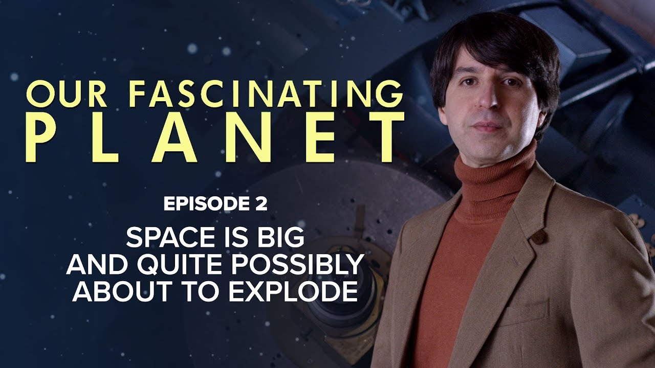 Space Is Big And Quite Possibly About To Explode [with Demetri Martin]