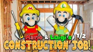 Mario and Luigi's Construction Job! (1/2) - Super Mario Richie