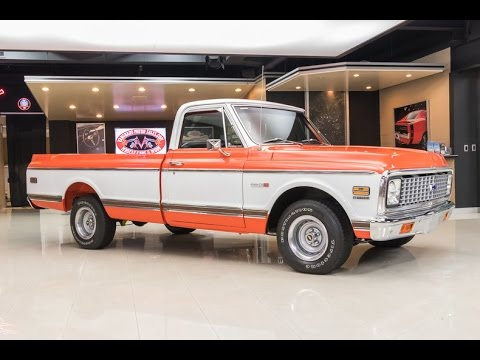 1972 Chevrolet Pickup For Sale