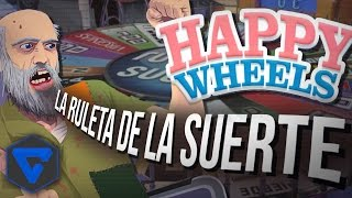 HAPPY WHEELS: LA RULETA DE LA SUERTE