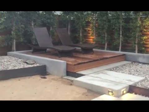 Rolling Deck with Hidden Spa Cover