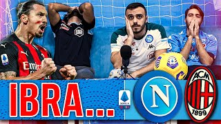 😞 IBRA... NAPOLI 1-3 MILAN | LIVE REACTION NAPOLETANI HD