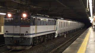 東京メトロ13000系13135F甲種輸送大宮駅通過