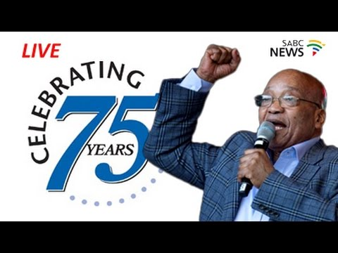 President Jacob Zuma's 75th birthday celebration