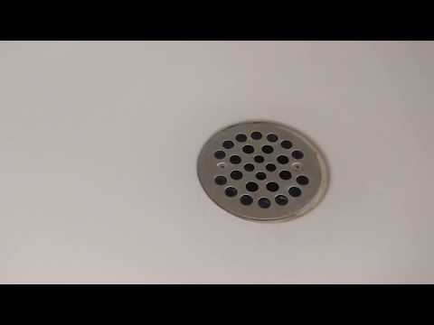 How to Clear a clogged Shower Drain Pipe - Free and Easy