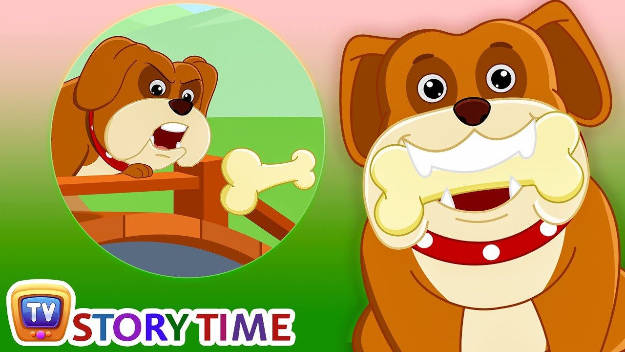The Dog & his Bone - Bedtime Stories for Kids in English | ChuChu TV  Storytime