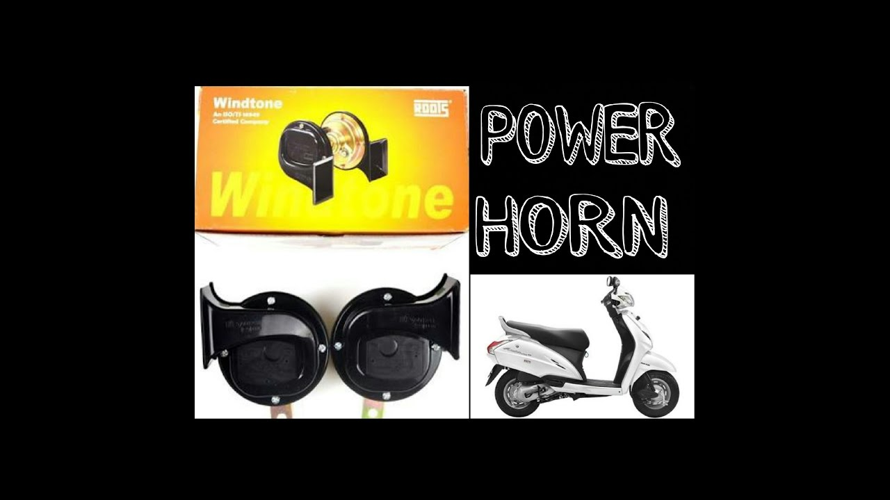 How to install power windtone horn in activa 3g youtube swarovskicordoba Image collections
