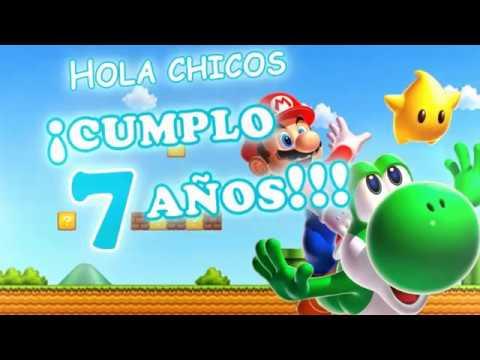 Super Mario Bros Invitación De Cumpleaños