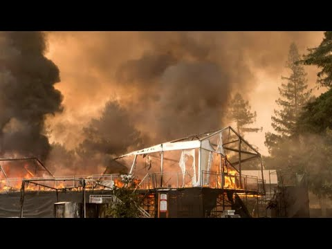 California wildfires scorch Sonoma and Napa counties
