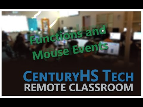 CS Academy Unit 2 Functions and Mouse Events