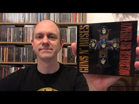 Guns N'Roses – Appetite For Destruction – 2CD & Boxset Review & Unboxing