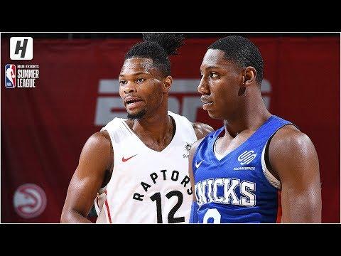 New York Knicks vs Toronto Raptors - Full Game Highlights | July 9, 2019 NBA Summer League