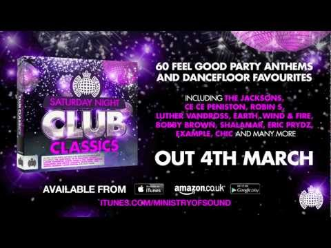 Saturday Night Club Classics Minimix (Ministry of Sound UK) (Out Now)