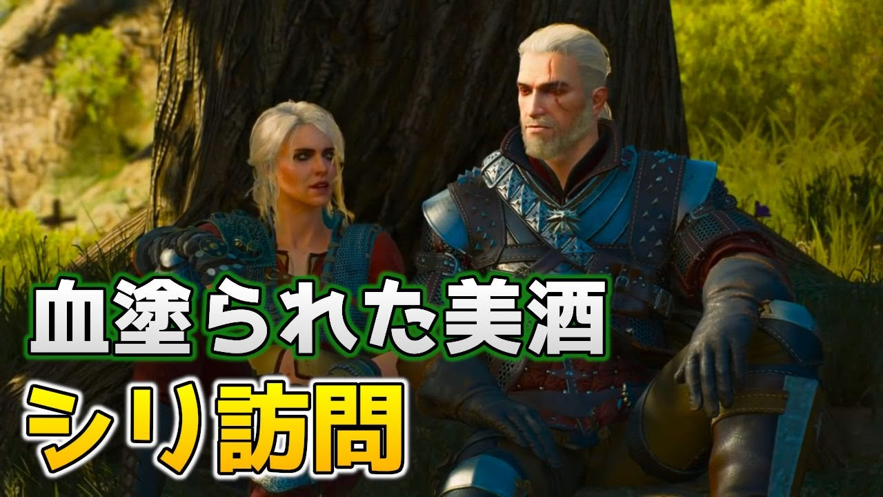 The Witcher 3 血塗られた美酒,シリの訪問,