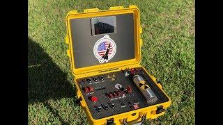 Our Titan model rocket launch control center