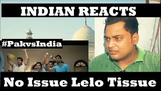 Indian reacts to no issue le lo tissue | unexpected reaction |