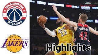 Wizards vs Lakers HIGHLIGHTS Full Game + OT | NBA February 22