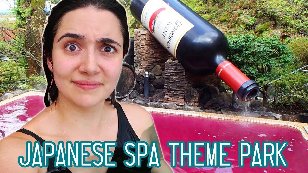 I Went To A Japanese Spa Theme Park
