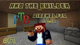 FTB DW20 Episode 17 - Pneumaticcraft Elevator & a Builder Building with a BC Builder