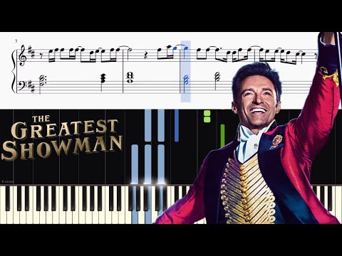The Greatest Showman - This Is Me - Piano Tutorial + SHEETS