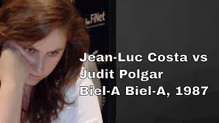 English Opening: Jean-Luc Costa vs Judit Polgar