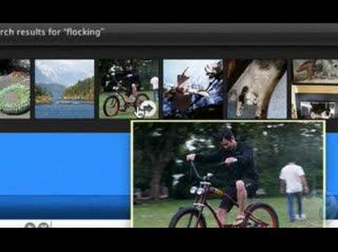 Finding and Sharing Media with the Flock Browser