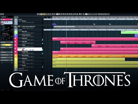 Game of Thrones Theme Song Remade In Cubase 10