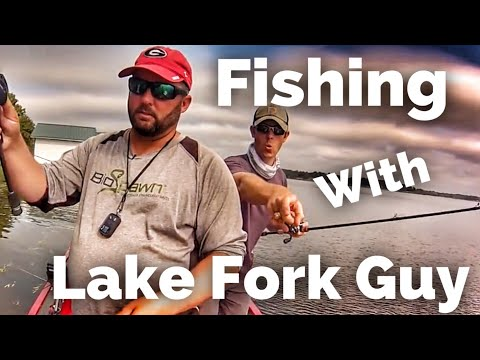 Bass Fishing In Texas On Lake Athens With Lake Fork Guy