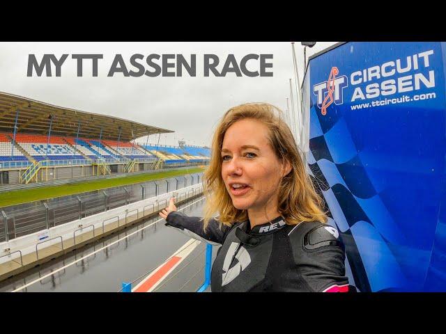 Racing TT Assen on a Honda CB500x !!  [S4 - Eps. 2]