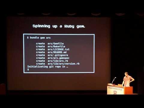 ROM Hacking with Ruby - RubyKaigi 2014