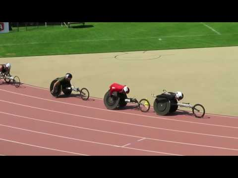 800m T53 WORLD RECORD and EUROPEAN RECORD LAKATOS and Fairbank