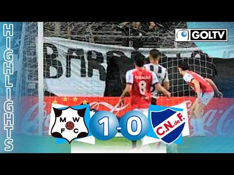 Wanderers 1 - 0 Nacional | GOLES | Primera División de Uruguay