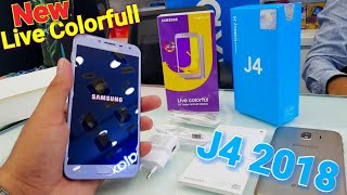 Samsung Galaxy J4 Live Colorfull 2018 Unboxing and Review Urdu Pakistan