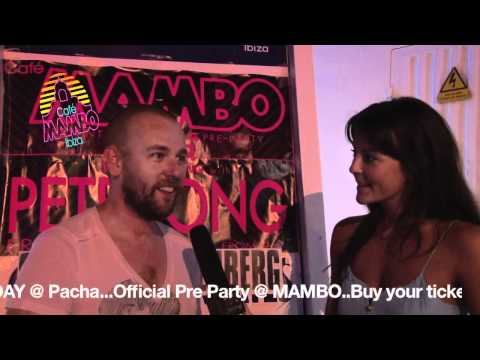 An interview with SANDER KLEINENBERG for Cafe Mambo TV