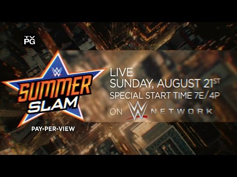 Watch WWE SummerSlam 2016 on July 24, live on WWE Network