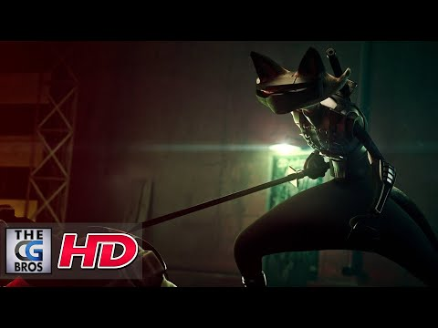 "CGI 3D Animated Trailer : ""ALLEYCATS Indiegogo Teaser 2 - by Blow Studio"