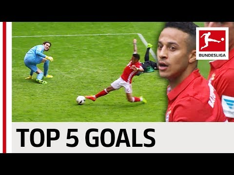 Thiago Alcantara - Top 5 Goals