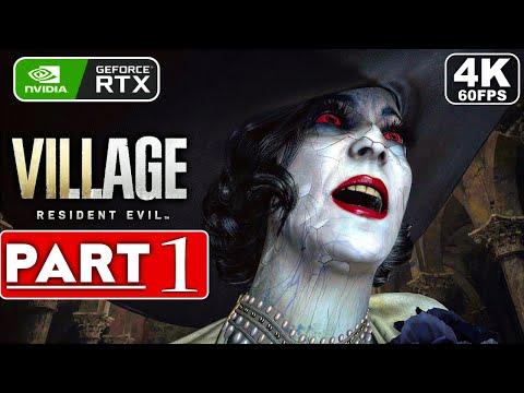 RESIDENT EVIL 8 VILLAGE Gameplay Walkthrough Part 1 FULL GAME [4K 60FPS PC] - No Commentary