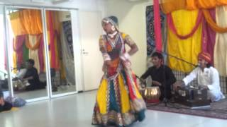 Traditional Indian folk dance