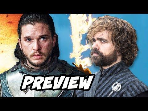 Game Of Thrones Season 8 Jon Snow Tyrion Preview Breakdown
