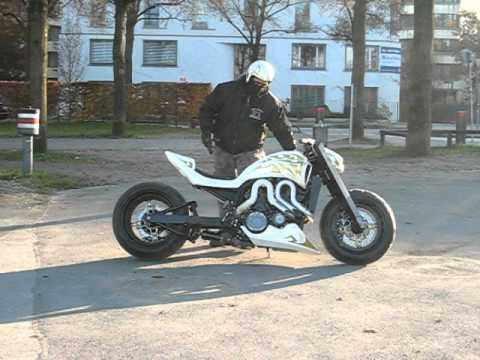 Vmax King Ralph Big Bike Munchen Komplettumbau Yamaha Custom V Max