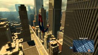 The Amazing Spider-Man 2 - Free-Roam Web Swinging Gameplay HD