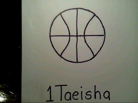 How To Draw A Basketball como dibujar una pelota de baloncesto