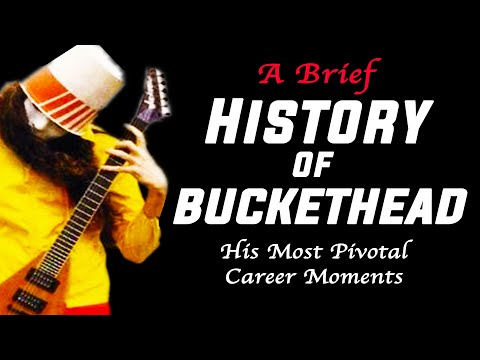 The History Of Buckethead (His Most Pivotal Career Moments)