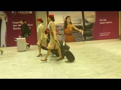 Emirates Crew | South African Airways Crew | Cape Town International Airport