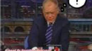 David Letterman the murderer