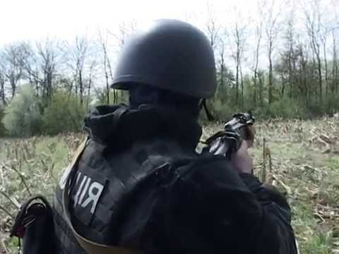 Антитерористическая операция.Боевая работа