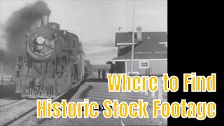 Where to Find Historic Stock Footage
