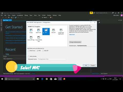 Building an ASP.NET Core MVC web app using Visual Studio 2015