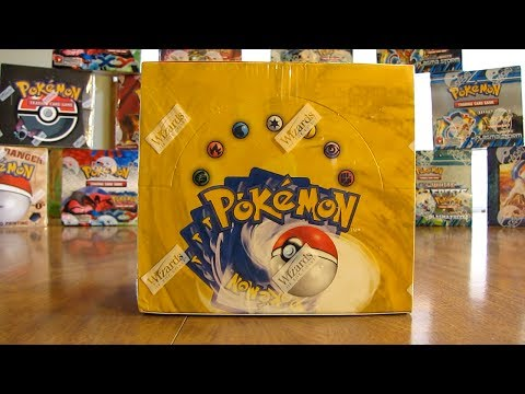 Pokemon Base Set Booster Box Opening Pt. 1